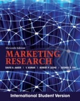 Marketing Research av David A. Aaker, V. Kumar, Robert Leone og George S. Day (Heftet)