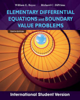 Omslag - Elementary Differential Equations and Boundary Value Problems