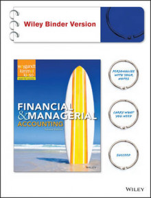 Financial and Managerial Accounting av Jerry J Weygandt (Perm)