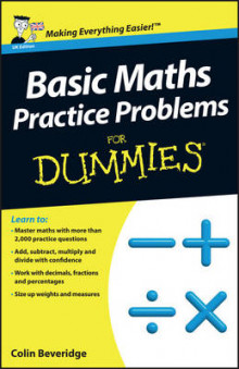 Basic Maths Practice Problems For Dummies av Colin Beveridge (Heftet)