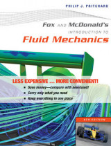 Omslag - Fox and Mcdonald's Introduction to Fluid Mechanics 8E Binder Ready Version