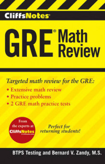 CliffsNotes GRE Math Review av BTPS Testing (Heftet)