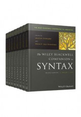 Omslag - The Wiley Blackwell Companion to Syntax