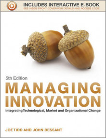 Managing Innovation av Joe Tidd og John Bessant (Heftet)