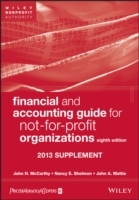 Financial and Accounting Guide for Not-for-Profit Organizations, 8th Editio av John H. McCarthy, CPA, Nancy E. Shelmon, CPA og Joh Mattie (Heftet)