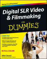 Omslag - Digital SLR Video and Filmmaking For Dummies