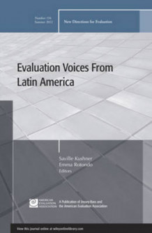 Evaluation Voices from Latin America av EV (Evaluation) (Heftet)