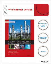 Elementary Principles of Chemical Processes 4E Binder Ready Version av Richard M. Felder, Ronald W. Rousseau og Lisa G. Bullard (Perm)