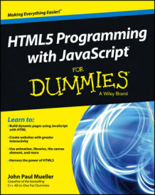 HTML5 Programming with JavaScript For Dummies av John Paul Mueller (Heftet)