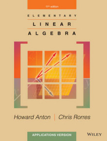 Elementary Linear Algebra Applications Version 11E av Howard Anton og Chris Rorres (Innbundet)