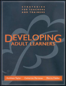 Developing Adult Learners av Kathleen Taylor, Catherine Marienau og Morris Fiddler (Heftet)