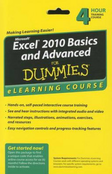 Excel 2010 Basics and Advanced For Dummies eLearning Course Access Code Card (6 Month Subscription) (Heftet)