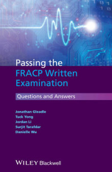 Passing the Fracp Written Examination - Questions and Answers av Jonathan Gleadle, Tuck Yong, Jordan Li, Surjit Tarafdar og Danielle Wu (Heftet)