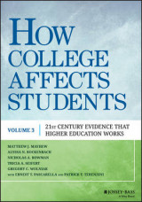 Omslag - How College Affects Students: Volume 3