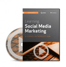 Learning Social Media Marketing av Dave Evans og Video2brain (DVD)