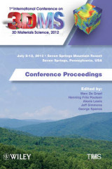 Omslag - Proceedings of the 1st International Conference on 3d Materials Science, 2012