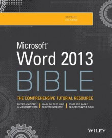 Word 2013 Bible av Lisa A. Bucki (Heftet)