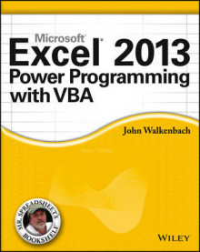 Excel 2013 Power Programming with VBA av John Walkenbach (Heftet)