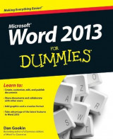 Omslag - Word 2013 For Dummies