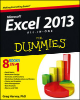 Omslag - Excel 2013 All-In-One for Dummies