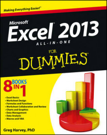Excel 2013 All-in-one For Dummies av Greg Harvey (Heftet)