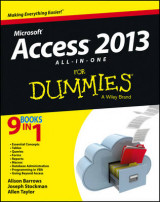Omslag - Access 2013 All-in-One For Dummies