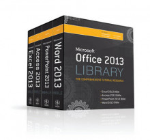 Office 2013 Library Excel 2013 Bible, Access 2013 Bible, PowerPoint 2013 Bible, Word 2013 Bible av Lisa A. Bucki (Heftet)