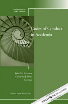 Codes of Conduct in Academia av Higher Education (HE) (Heftet)