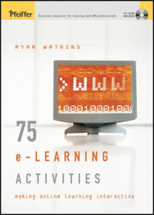 75 e-Learning Activities av Ryan Watkins (Heftet)
