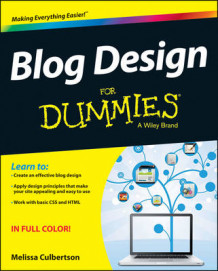 Blog Design For Dummies av Melissa Culbertson (Heftet)