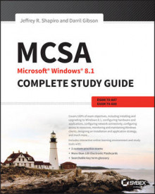 MCSA Microsoft Windows 8.1 Complete Study Guide av Darril Gibson, William Panek, Rob Tidrow og Jeffrey R. Shapiro (Heftet)