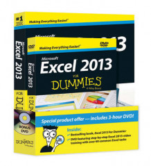Excel 2013 For Dummies av Greg Harvey (Blandet mediaprodukt)