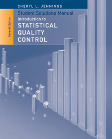 Student Solutions Manual to Accompany Introduction to Statistical Quality Control, 7E av Montgomery (Heftet)