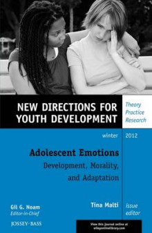 Adolescent Emotions: Development, Morality, and Adaptation av YD (Heftet)