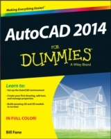 AutoCAD 2014 For Dummies av Bill Fane og David Byrnes (Heftet)