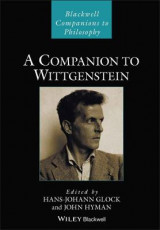 Omslag - A Companion to Wittgenstein