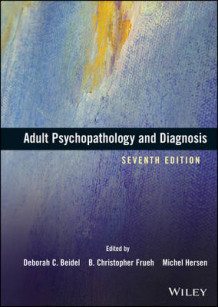 Adult Psychopathology and Diagnosis (Innbundet)