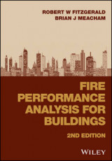 Omslag - Fire Performance Analysis for Buildings