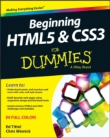 Beginning HTML5 and CSS3 For Dummies av Ed Tittel og Chris Minnick (Heftet)