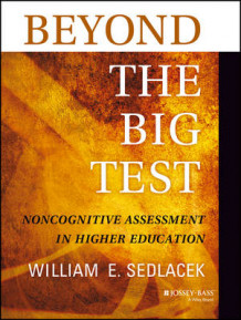 Beyond the Big Test av William E. Sedlacek (Heftet)