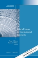 Global Issues in Institutional Research (Heftet)