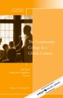 The Community College in a Global Context av CC (Community Colleges) (Heftet)