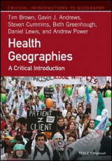 Omslag - Health Geographies
