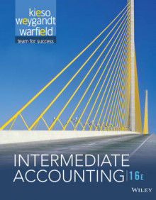 Intermediate Accounting av Donald E Kieso (Innbundet)
