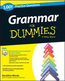 Grammar: 1,001 Practice Questions For Dummies av Geraldine Woods (Heftet)