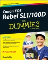 Canon EOS Rebel SL1/100D For Dummies av Doug Sahlin (Heftet)