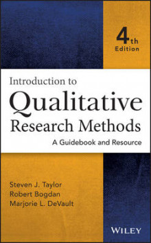 Introduction to Qualitative Research Methods av Steven J. Taylor, Robert Bogdan og Marjorie DeVault (Innbundet)