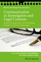 Communication in Investigative and Legal Contexts (Heftet)