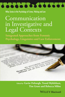 Communication in Investigative and Legal Contexts (Innbundet)