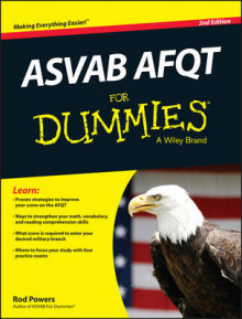 ASVAB AFQT For Dummies av Rod Powers (Heftet)
